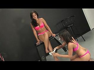 Lesbian foot fetish domination by miss selena