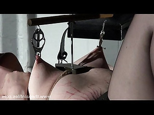 Extreme lesbian bdsm hardcore lezdom tit tortures of chubby redhead slaveslu
