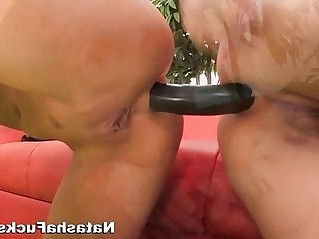 Natashas first time ever Anal hardcore sex with Asa