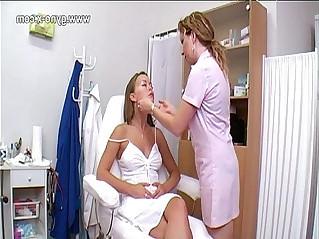 Gynecological checkup on gyno clinic