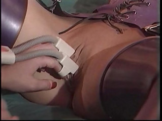 Two dykes use fetish toys to play Get more girls like this